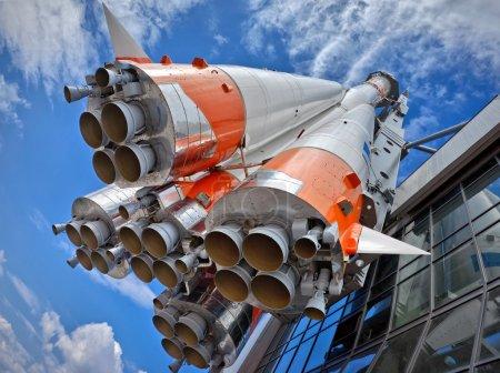 Russian space transport rocket