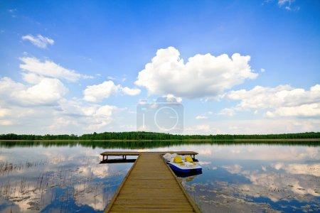Summer Lake, Pierce