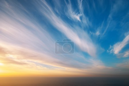 Photo for Sky background. Composition of nature. - Royalty Free Image