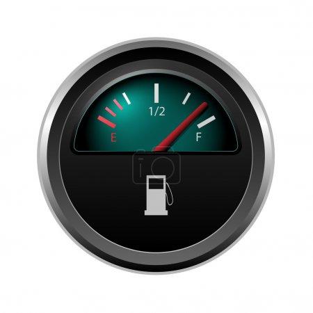 Vector fuel level