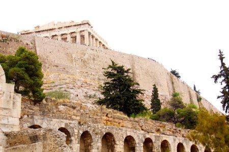 The Parthenon, in Athens Akropolis, Greece