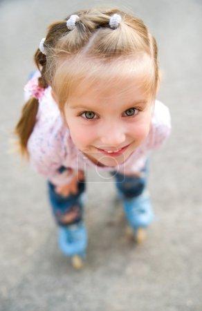 Portrait of a beautiful liitle girl