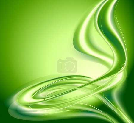 Illustration for Abstract background green - Royalty Free Image