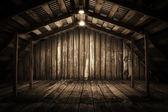"Постер, картина, фотообои ""Wooden room"""