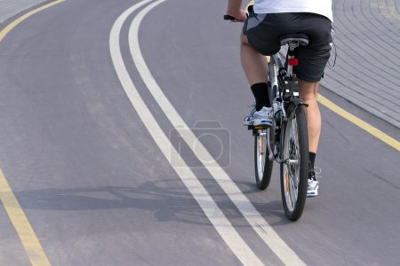 Photo for Cycling in the city - Royalty Free Image