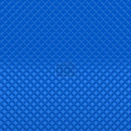 3d metal modern blue pattern