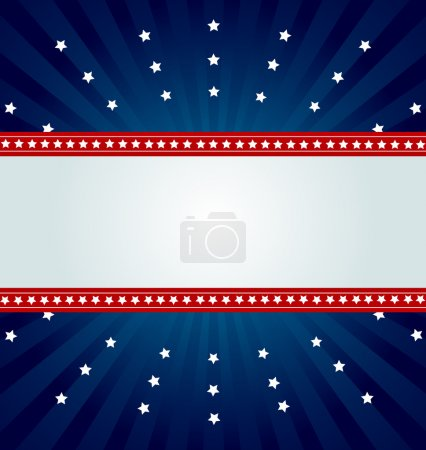Patriotic background for Fourth of July...