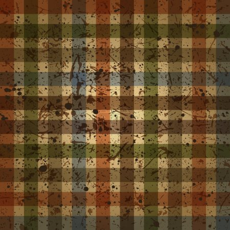 Abstract Checkered background vintage