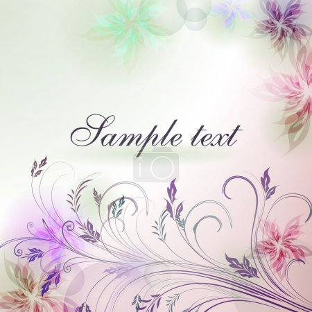 Elegantly background with pastel colors, eps10 for...