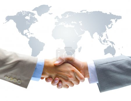 Agreement handshake