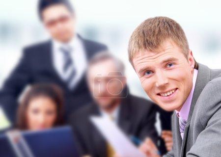 Portrait of confident business man
