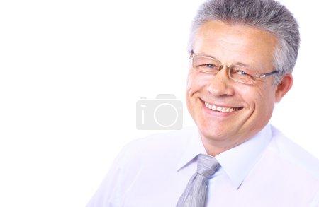 Foto de Sonrisa de hombre senior - Imagen libre de derechos