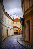 Small street in Prague