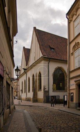 Small street in Prague