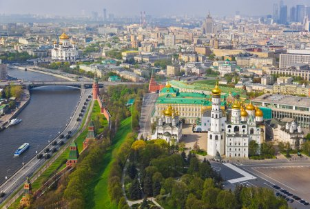 Photo for Moscow Kremlin - Russia - aerial view - Royalty Free Image