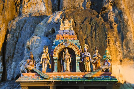 Statue of god at Batu caves, Kuala-Lumpur, Malaysia