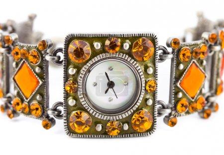 Macro of watch