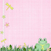 Background for children card