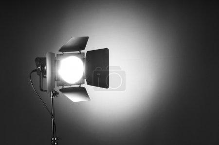 Photo pour Projecteur allume l'espace wtih pour votre texte - image libre de droit