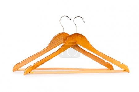 Photo for Hanger isolated on the white background - Royalty Free Image