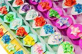Mnoho barevné dárkové boxy