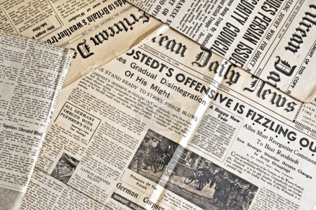 Ancient newspapers