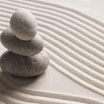 Zen stone background...