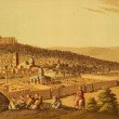 Jerusalem on engraving from the 1800s...