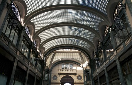 Milan trade center. Popular tourist place.