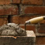 Tool shovel glue cement...