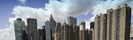 Photo for Panoramic View of New York City Buildings, U.S.A. - Royalty Free Image