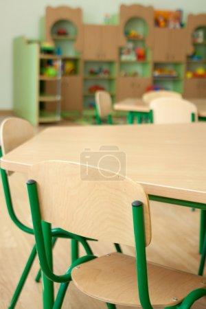 Photo for Interior of the kindergarten, preschool classroom - Royalty Free Image