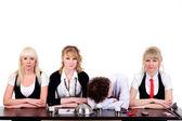 Boring business team