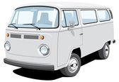 Passenger and cargo van
