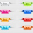 Labels with color variations...