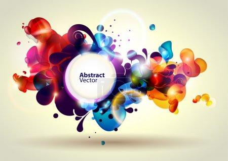 Illustration pour Abstrait bannière. - image libre de droit