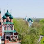View of old church in Yaroslavl, Russia...