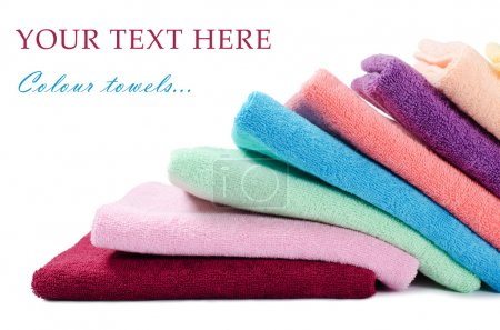 The combined colour towels