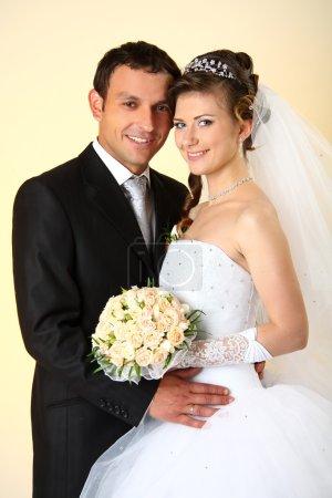 Photo pour Aimant permanent de couple en studio - image libre de droit