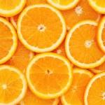 Healthy natural food, background. Orange...
