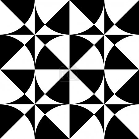 Seamless geometric op art design.