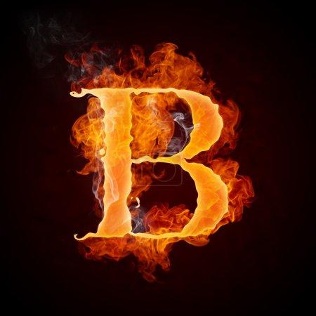 Cartas de fuego A-Z