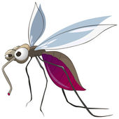 Cartoon Character Mosquito
