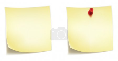 Illustration for Blank Sticker Isolated on White Background. Vector EPS8. - Royalty Free Image