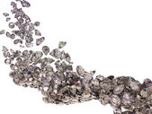 Large diamonds flow isolated