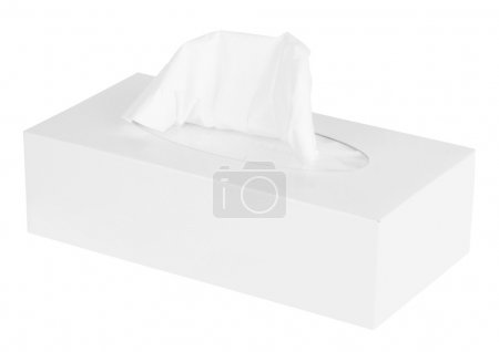White Box of Tissues