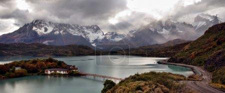 Photo pour Différents paysages de la patagonie en Amérique du Sud. vue sur le perito moreno et les torres del paine - image libre de droit