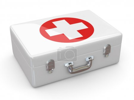 First aids. Medical Kit. 3d