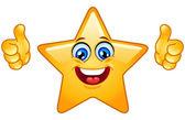 Palec nahoru hvězda