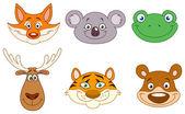 Animal heads 3